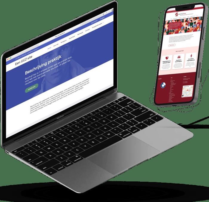 website voor praktijk ggz